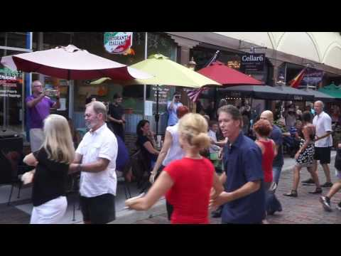International West Coast Swing Flash Mob 2016
