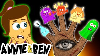 Download Five Spooky Monsters | Halloween Songs for Kids |  Nursery Rhymes and Baby Songs by Annie and Ben Mp3 and Videos