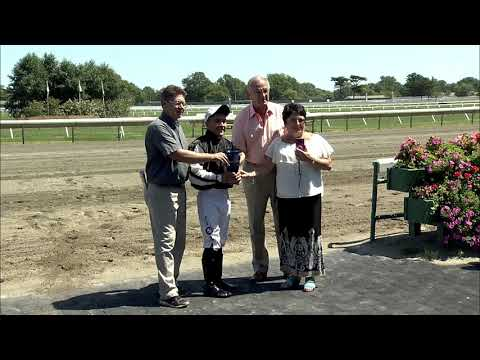 video thumbnail for MONMOUTH PARK 8-24-19 RACE 1 – THE UNBRIDLED ESSENCE STAKES