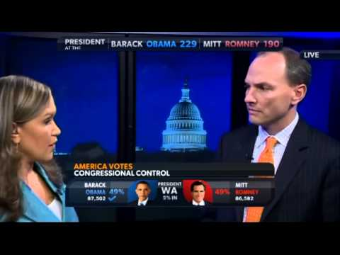Presidential Election 2012 DC Political Analyst Interview 1