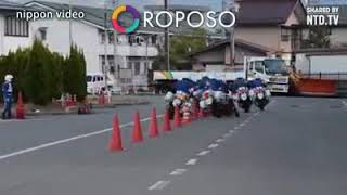 Traffic police stunts