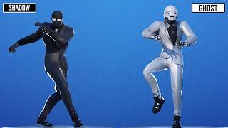 Ghost Henchman vs Shadow Henchman   Fortnite Dance Battle