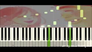 Ore Monogatari - You Made My Day (Tutorial piano)