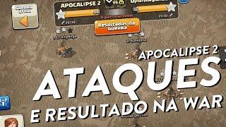 ATAQUES DA GUERRA NO APOCALIPSE 2 - ATAQUES PARA INICIANTES - CLASH OF CLANS - CLÃ APOCALIPSE