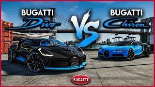 Bugatti Divo Vs Chiron│Battle│THE CREW 2