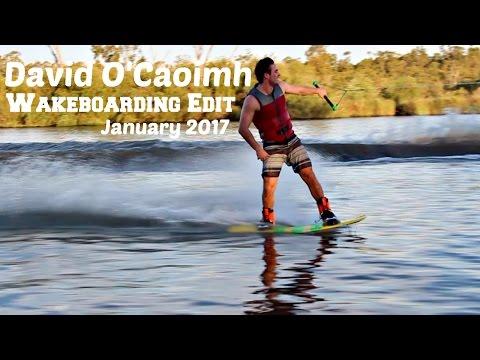 David O'Caoimh Wakeboarding 2017 - Australia