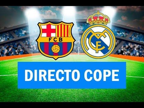 (SOLO AUDIO) Directo del Barcelona 1-1 Real Madrid en Tiempo de Juego COPE