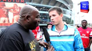 Arsenal FC 3  Stoke City 1 - Fan Unhappy with Flamini Although Many Thought He Was M.O.T.M thumbnail