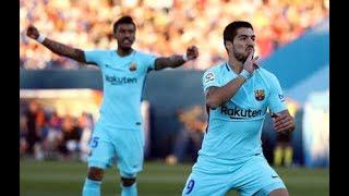Fc barcelone VS Cd Leganés (3-0) Résumé du 18/11/2017 LIGA