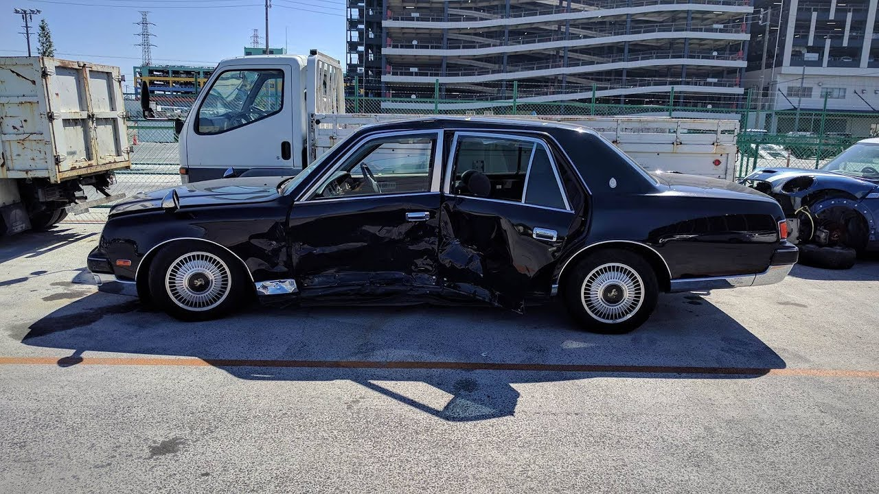 Cool Cars at Japanese Auctions - 2007 Toyota Century V12 @ USS ...