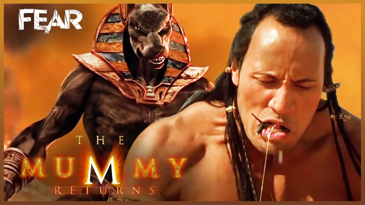 the scorpion kings deal with anubis the mummy returns
