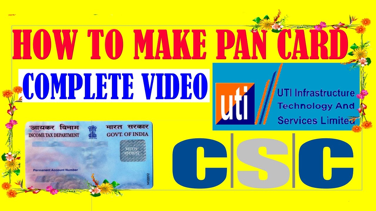 HOW YOU FILL UP PAN CARD FORM AND SEND DOCUMENTS FROM APNA CSC DIGITAL SEVA  PORTAL IN HINDI