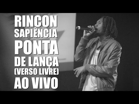 Rincon Sapiência - Ponta de Lança (Verso Livre) - Ao Vivo