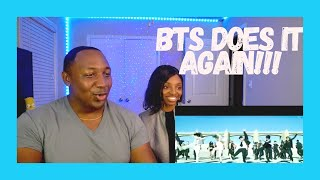 Download lagu BTS (방탄소년단) 'ON' Kinetic Manifesto | Music Video Reaction (OUR FIRST BTS REACTION EVER!)