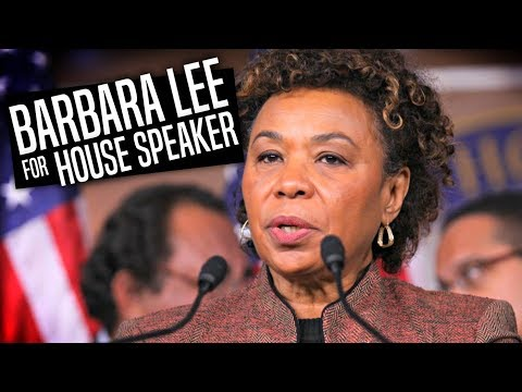 Why Barbara Lee MUST Become House Speaker