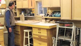 The Down To Earth Woodworker- 5s Shop Tour Part 2
