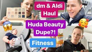 Huda Beauty Palette DUPE? l DM & ALDI HAUL l Fitness & Massage