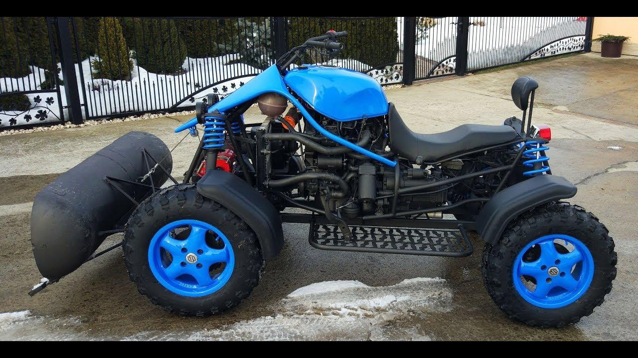 Jak Zrobić Quada Samoróbkę? Efekt Końcowy! Quad Samoróbka 1.6T D 4x4. Homemade ATV Quad!