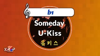 [KPOP MR 노래방] Someday - 유키스 (b1 Ver.)ㆍSomeday - U-Kiss
