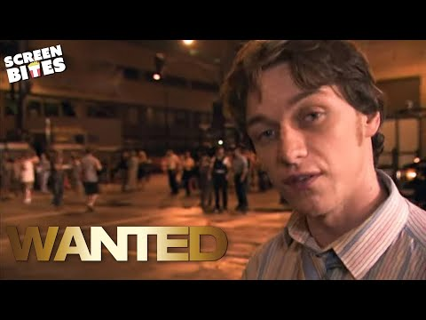 """""""Wanted"""" - Behind the scenes with James McAvoy. - YouTube"""