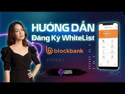 Hướng Dẫn Đăng Ký Whitelist IDO dự án Blockbank @GFS Ventures - The Hidden Gem