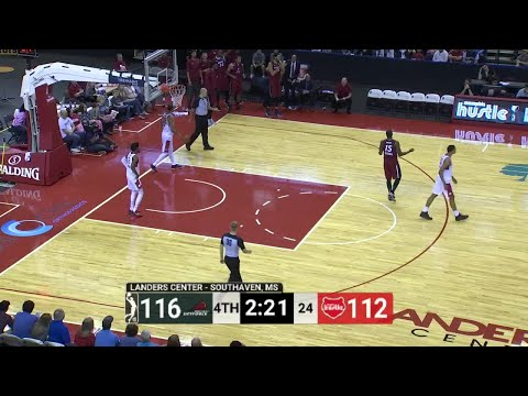 Larry Drew II (2 points) Game Highlights vs. Memphis Hustle