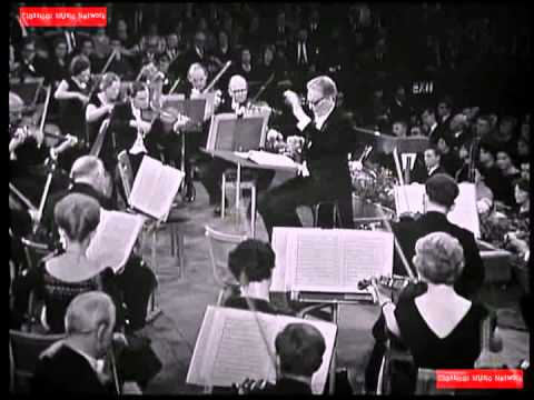 Beethoven Symphony No 9 (1 Hour 17 Minutes) Otto Klemperer, Conductor