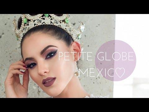 México vestido de rosa ♥  Petite Globe México 2017.