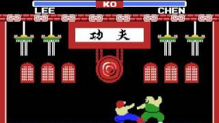 MSX Game: Yie Ar Kung-Fu (1985 Konami)