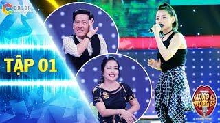 Giọng ải giọng ai 2   Tập 1: Trường Giang, Ốc Thành Vân ngỡ ngàng với giọng hát của cô gái dancer