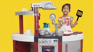 엄마가 아파서 음식을 만들어줘요!! 서은이의 밀레 주방놀이 아픈 엄마 돌보기 Take Care Sick Mommy Miele Kitchen Toys