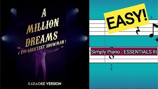 Download lagu Simply Piano| A Million Dreams |Essentials III |Piano Tutorial