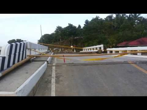 Bohol Earthquake: Crossing Moalong Bridge
