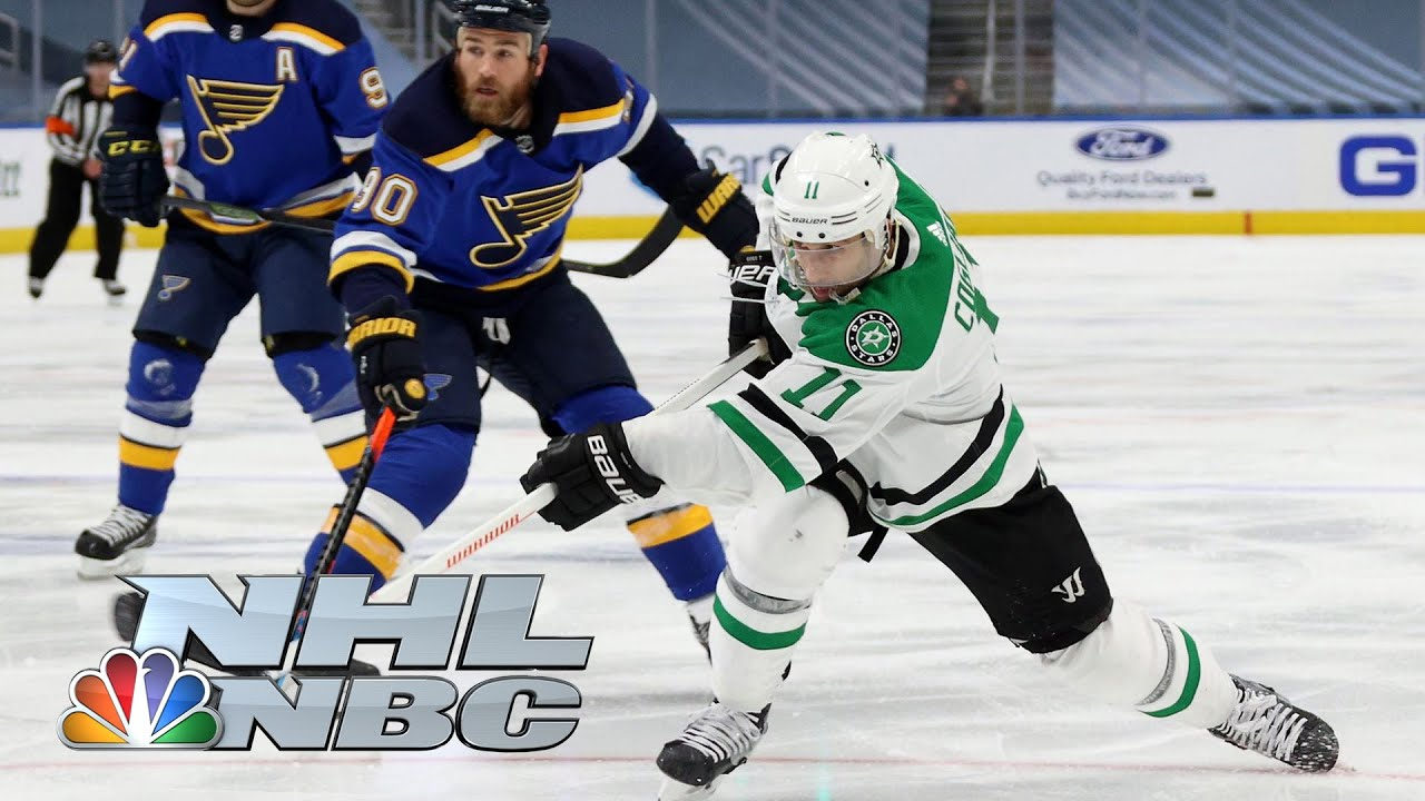 NHL Stanley Cup Round Robin: Stars vs. Blues | EXTENDED HIGHLIGHTS | NBC Sports