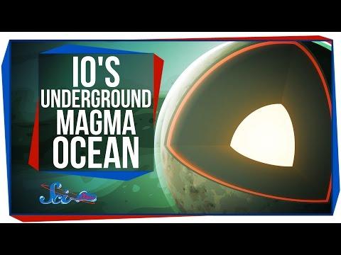 Io's Underground Magma Ocean