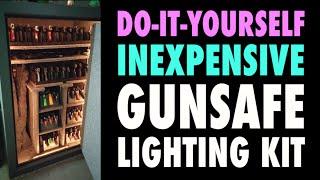 Diy: Cheap Gunsafe Lighting