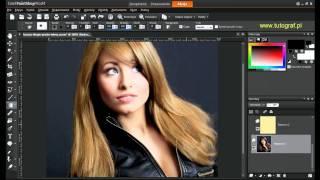 Corel Paint Shop Pro X4  - Jak zmienić kolor włosów