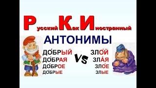 Топ 100 популярные русские прилагательные с примерами. часть 1. РКИ для всех