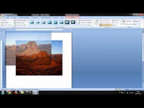 Microsoft Office Trial >> como mover una imagen en microsoft office word 2007 - YouTube