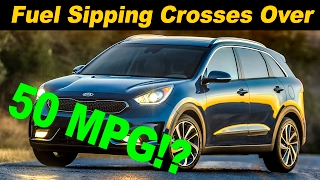 2017 Kia Niro Hybrid Crossover First Drive Review - In 4K UHD!