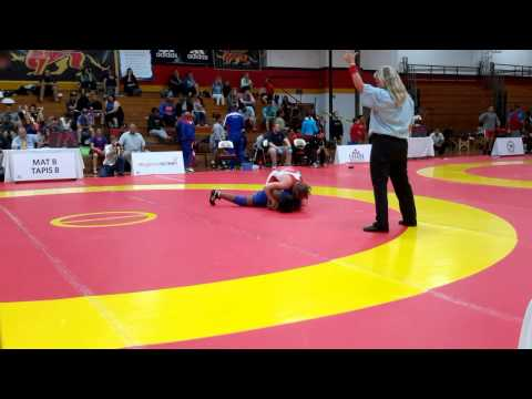 2015 Canada Cup: 53 kg Jillian Gallays (CAN) vs. Chelcie Armstrong (CAN)