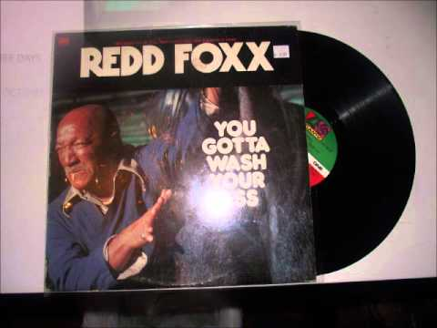 Redd Foxx- You Gotta Wash Your Ass -Side 1- (Vinyl LP)