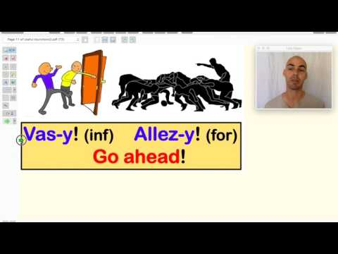 French lesson #3 for beginners: Proper nouns / injunctions / Describing someone