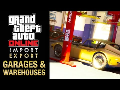 GTA Online Import/Export DLC - All Office Garages & Vehicle Warehouse Interiors
