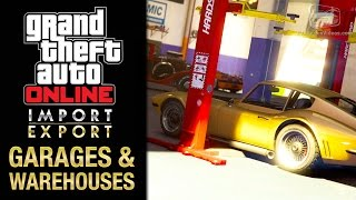 GTA Online Import/Export DLC - All Office Garages & Vehicle Warehouse Interiors