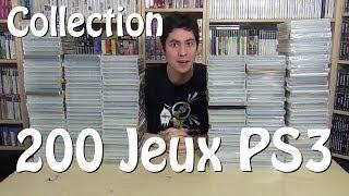 Ma collection de 200 jeux PS3