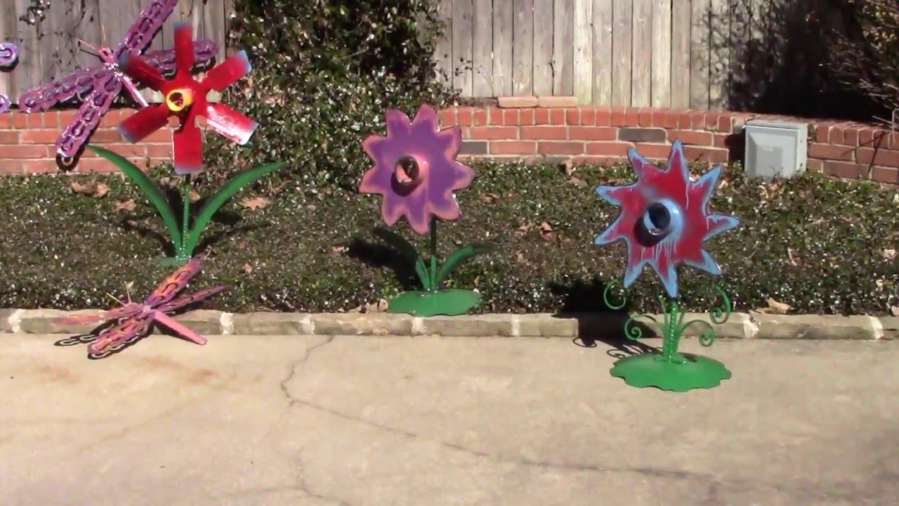 Upcycled yard art ideas DIY Garden Metal Sculptures by ...
