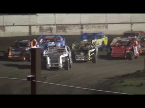 "IMCA Sport Mod ""Liberty 100"" feature West Liberty Raceway 9/24/16"