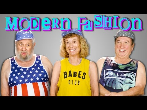 ELDERS TRY ON MODERN CLOTHES | ELDERS REACT