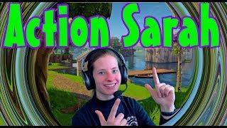 Fortnite Live Stream PS4   Action Sarah! - No Capture Card PS4 - PSN Code giveaway   YourSixStudios